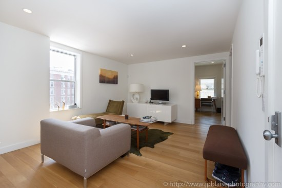 NY interior photography two bedroom apartment in west village manhattan