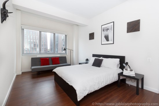 NY real estate photography new york interior apartment photographer NY bed