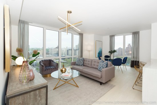 NYC Apartment photographer real estate upper east side interior designer new york ny living room