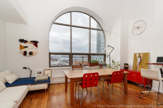 NYC apartment photographer real estate Long island city new york queens large windows
