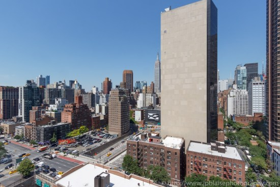 NYC apartment photographer two bedroom midtown views