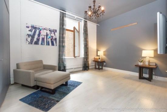 NYC apartment photographer work one bedroom condo in chelsea manhattan bedroom