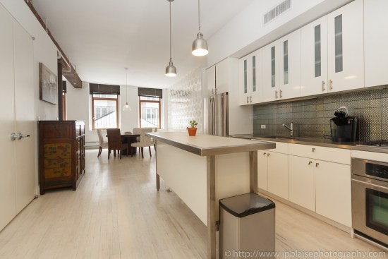 NYC apartment photographer work one bedroom condo in chelsea manhattan more kitchen