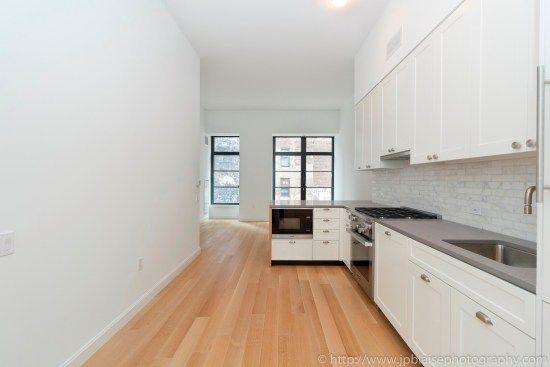 New York Apartment Photographer one bedroom condo manhattan flatiron district NY NYC kitchen