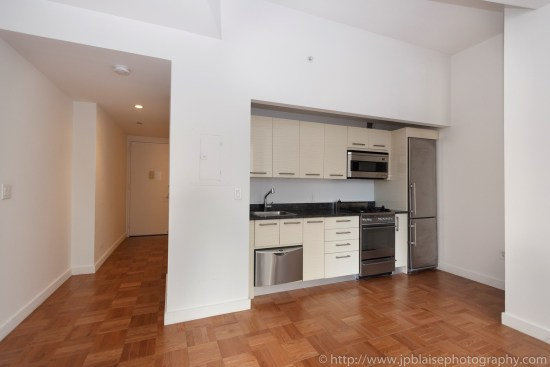 New York Apartment photographer work Studio unitin the Financial District Manhattan kitchen