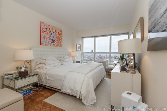 New York City apartment photographer one bedroom Midtown NYC bedroom