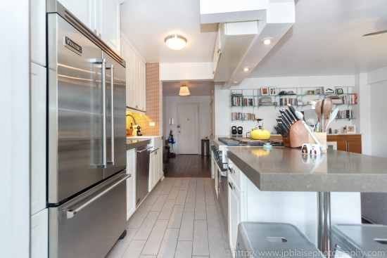 New York City apartment photographer one bedroom brooklyn heights kitchen