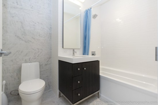 New york apartment photographer studio unit midtown west bathroom