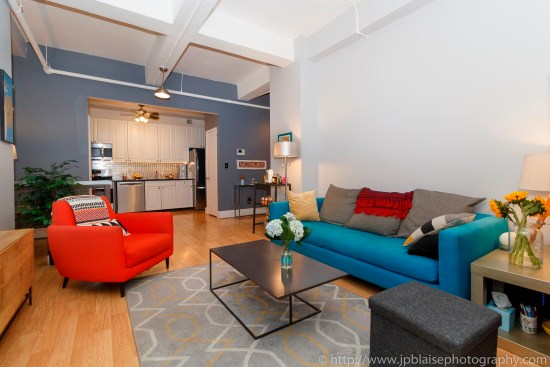Nyc apartment photographer real estate new york studio loft brooklyn heights living ny