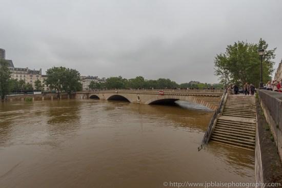 Paris flooding river banks apartment photography