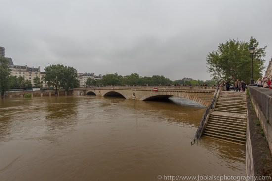Paris flooding river banks apartment photography