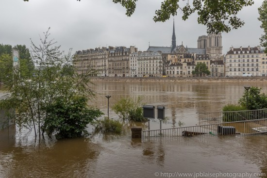 Paris flooding river banks interior photography