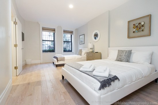 Real Estate photographer apartment of the week Upper West Side Bedroom 2