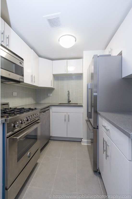 Real Estate photographer work kitchen of Midtown east unit new-york