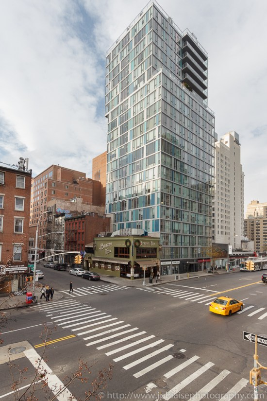 View of the east village from 2 bedroom unit in Manhattan, New York
