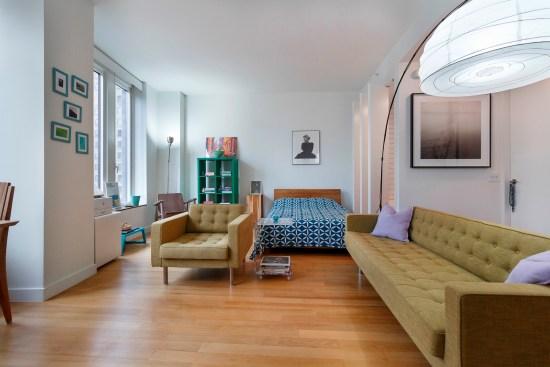 Real estate photographer apartment studio Wall street downtown new york city ny nyc interior