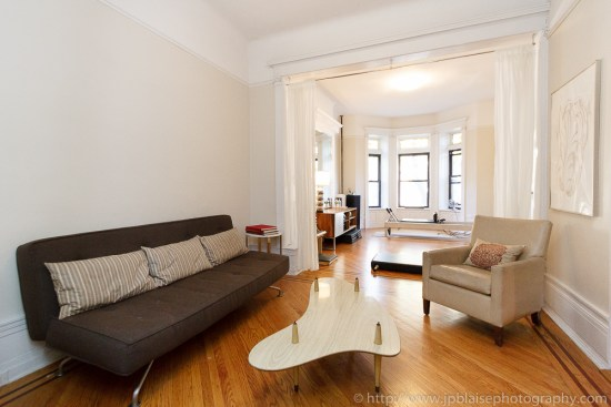 Real Estate photography of New York apartment in Crown Heights, Brooklyn