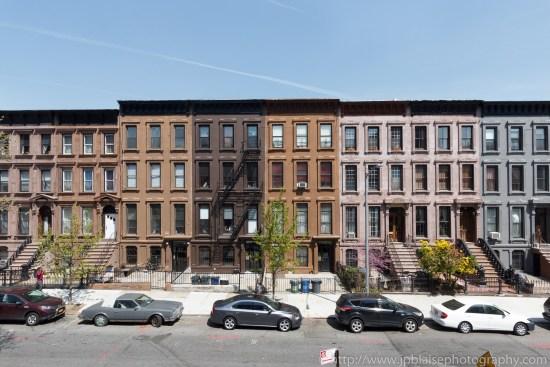 Townhouses Brownstones Brooklyn real estate photographer work one bedroom in bedford stuyvesant new york