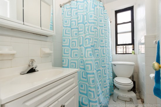 bathroom interior apartment photography work one bedroom in washington heights new york city