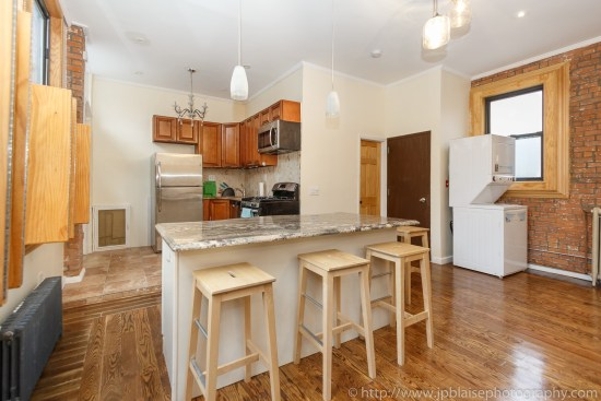 kitchen of brooklyn Apartment photographer two bedroom in boerum hill brooklyn