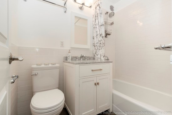 nyc apartment photographer two bedroom unit upper east side real estate photography interior new york ny bathroom