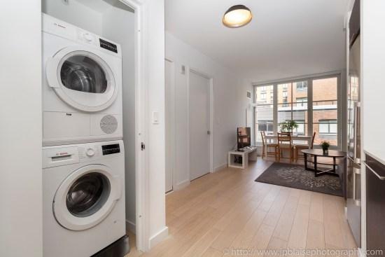 nyc real estate photographer apartment interior photo midtown manhattan washer