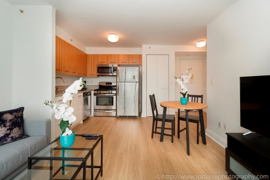 real estate photographer apartment interior midtown west photography dining room