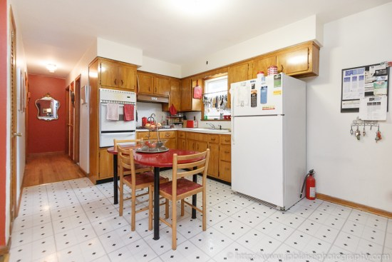 Latest Interior Photography Work: picture of the kitchen of a living room of an apartment in Union City, New Jersey