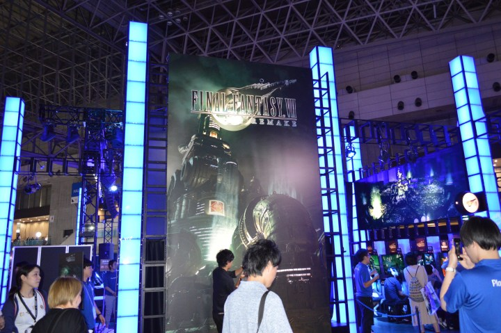 Final Fantasy VII Remake at TGS 2019