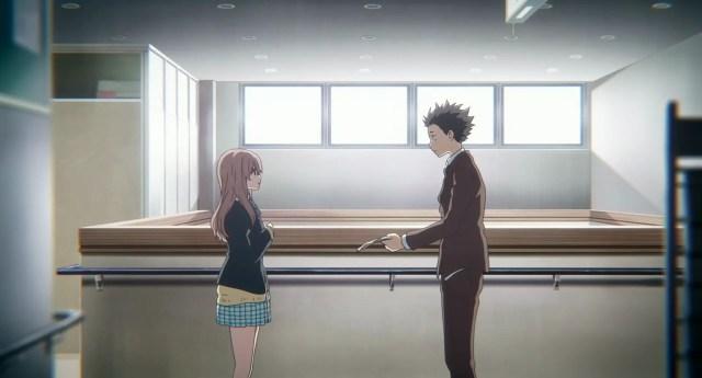 Shouya Ishida and Shoko in High School