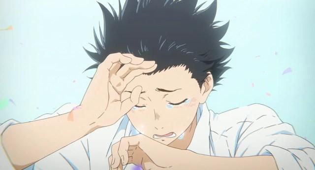 Shouya Ishida crying