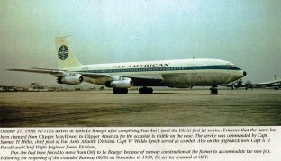 707-121 Inaugural arr PAR