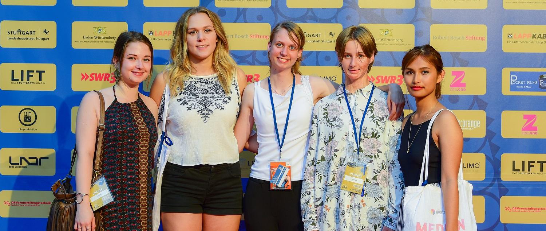Unser JPBW Redaktions-Team beim 14. Indischen Filmfestival Stuttgart