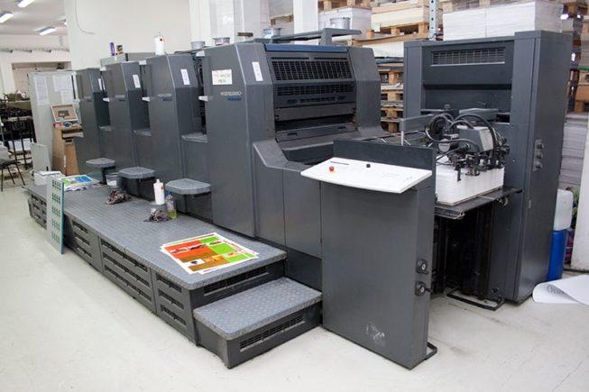 Offset Printing Diagram Offset Printing Press Diagram