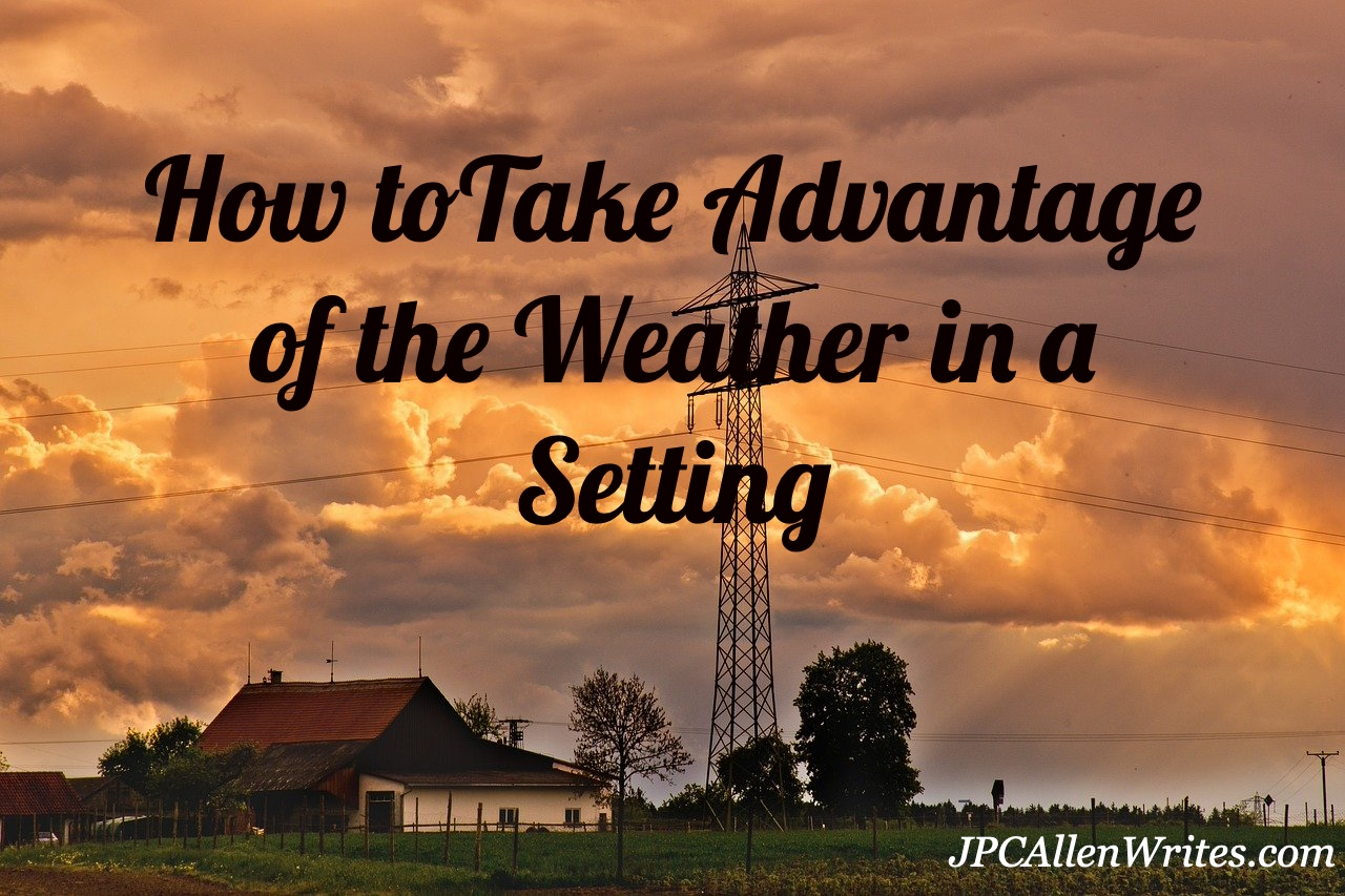 take advantage of the weather in a setting
