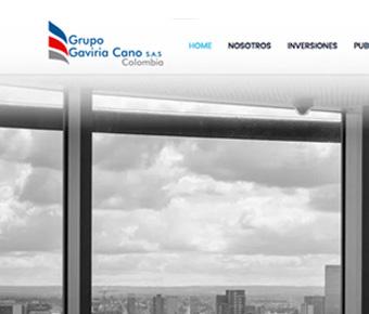 Grupo Gaviria Cano web