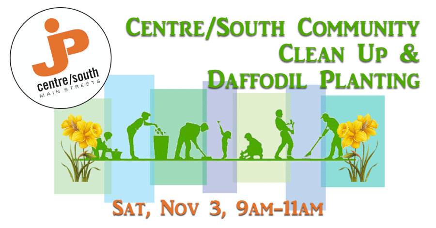 Centre/South Community Clean Up and Daffodil Planting