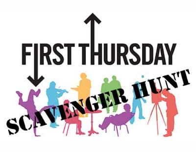 First Thursday Scavenger Hunt