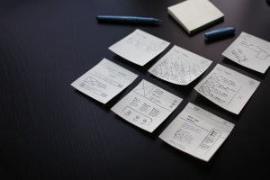 Web Wireframe layouts
