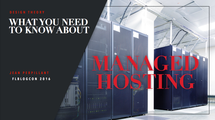Managed Hosting Main Slide