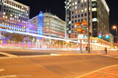 City of Orlando Long Exposure
