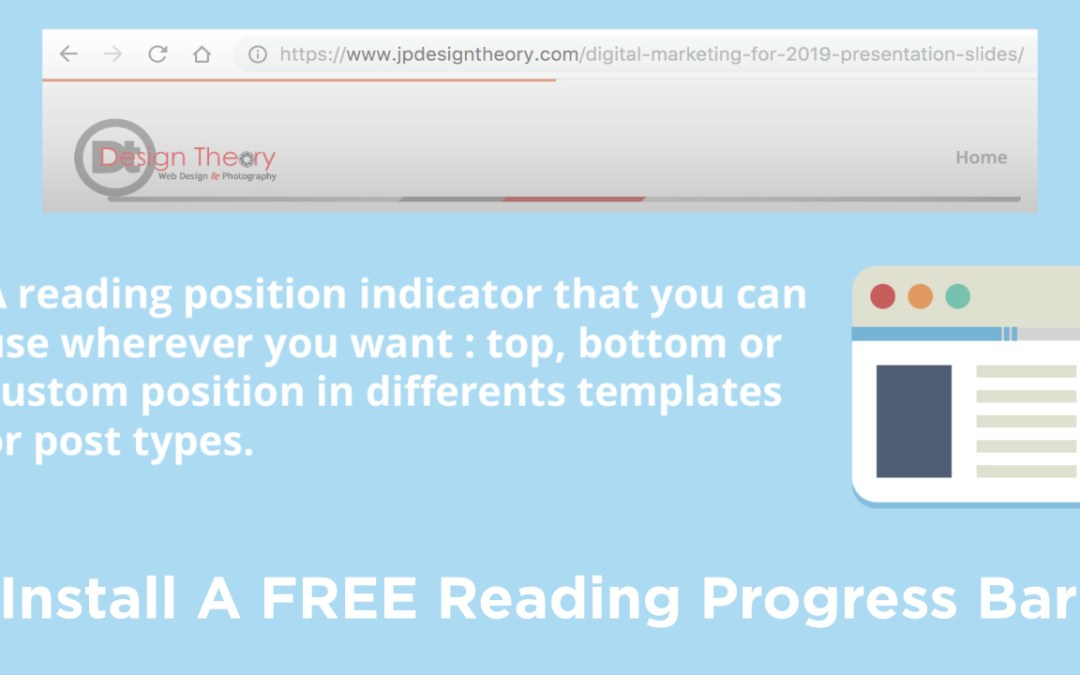 How to Install a Reading Progress Bar