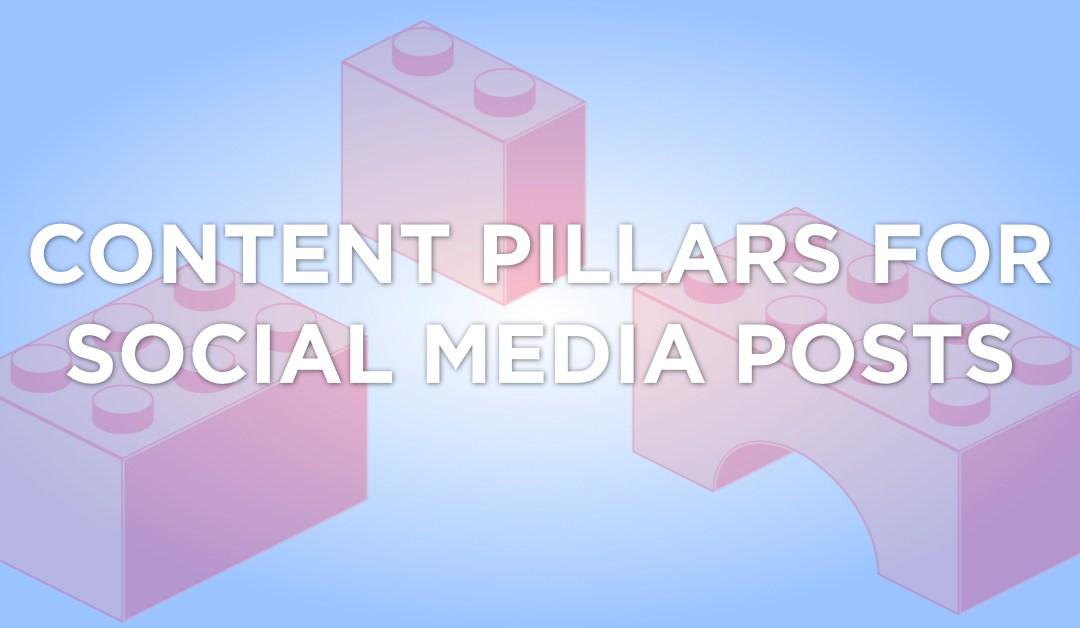 Three Pillars of Social Media Content