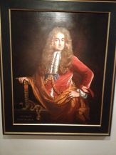 Elias Ashmole (stop snickering) - an antiquary, astrologer, alchemist and favorite in King Charles II court.