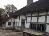 Mary Arden's house - the youngest of 8 girls!