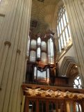 Another massive pipe organ to blast you awake in case you dozed off during the sermon.