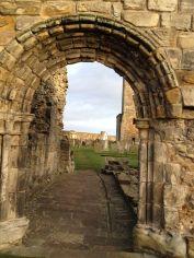 ...medieval cemetery...