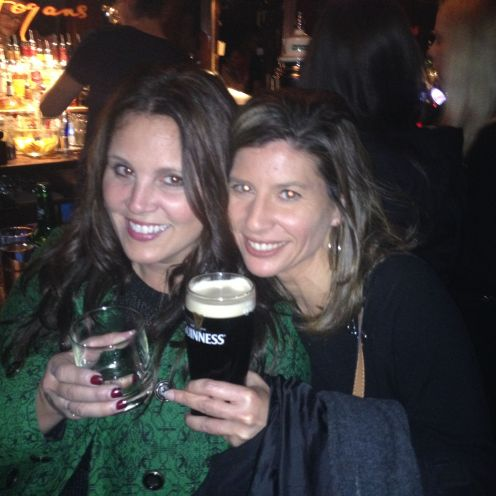 Slainte (Cheers in Irish and Scottish Gaelic) from Hogan's pub in Dublin. Both these Celtic cousins are hands down some of the kindest, warmest hearted people in the world. Thenk ya uncoly!