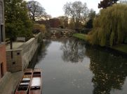 The Anchor is along the River Cam, great for summertime punting. Yup, did that too.