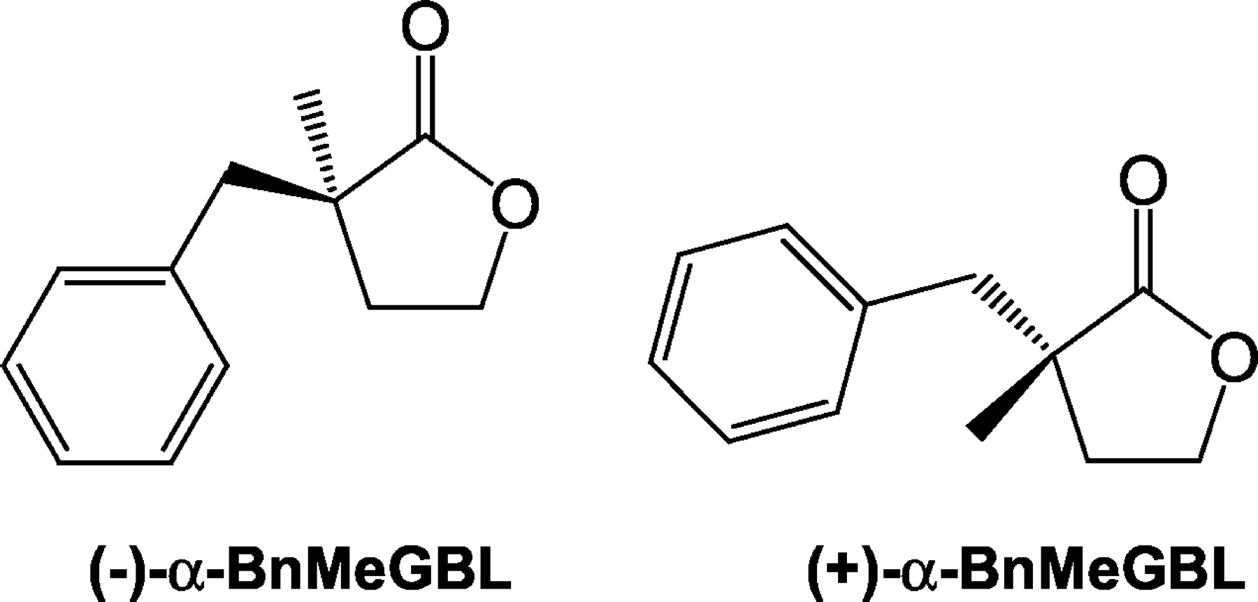Enantioselectivity of α-Benzyl-α-methyl-γ-butyrolactone